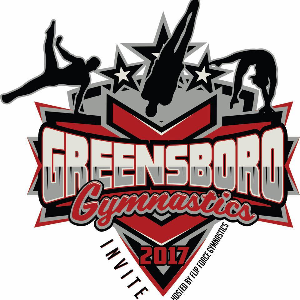 The Greensboro Gymnastics Invitational and Flip Force Gymnastics GO BIG